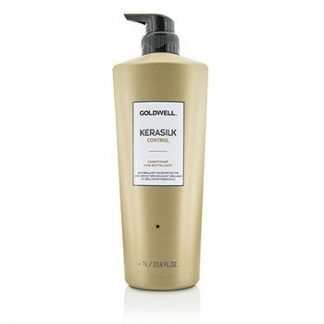 GOLDWELL KERASILK CONTROL CONDITIONER (FOR UNMANAGEABLE, UNRULY AND FRIZZY HAIR)  1000ML/33.8OZ