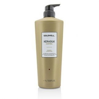 GOLDWELL KERASILK CONTROL SHAMPOO (FOR UNMANAGEABLE, UNRULY AND FRIZZY HAIR)  1000ML/33.8OZ