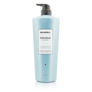 GOLDWELL KERASILK REPOWER ANTI-HAIRLOSS SHAMPOO (FOR THINNING, WEAK HAIR)  1000ML/33.8OZ