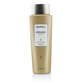 GOLDWELL KERASILK CONTROL KERATIN SMOOTH 2 - # MEDIUM  500ML/16.9OZ