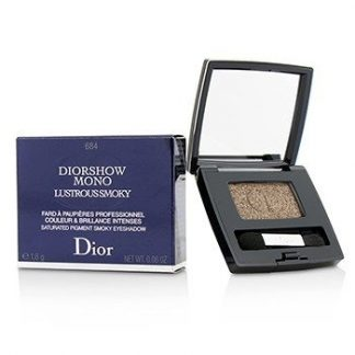 CHRISTIAN DIOR DIORSHOW MONO LUSTROUS SMOKY SATURATED PIGMENT SMOKY EYESHADOW - # 684 REFLECTION  1.8G/0.06OZ