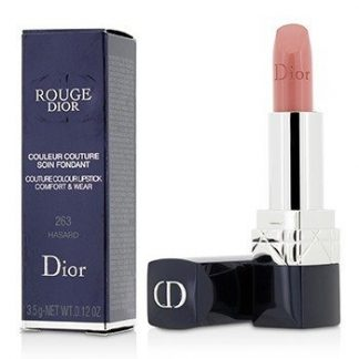 CHRISTIAN DIOR ROUGE DIOR COUTURE COLOUR COMFORT & WEAR LIPSTICK - # 263 HASARD  3.5G/0.12OZ