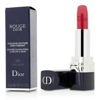 CHRISTIAN DIOR ROUGE DIOR COUTURE COLOUR COMFORT & WEAR LIPSTICK - # 520 FEEL GOOD  3.5G/0.12OZ