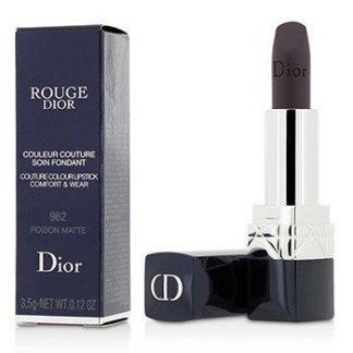CHRISTIAN DIOR ROUGE DIOR COUTURE COLOUR COMFORT & WEAR MATTE LIPSTICK - # 962 POISON MATTE  3.5G/0.12OZ