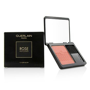 GUERLAIN ROSE AUX JOUES TENDER BLUSH - #02 CHIC PINK  6.5G/0.22OZ
