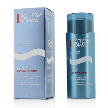 BIOTHERM HOMME T-PUR ANTI OIL & SHINE ULTRA ABSORBING & MATTIFYING MOISTURIZER GEL  50ML/1.69OZ