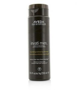 AVEDA INVATI MEN NOURISHING EXFOLIATING SHAMPOO (FOR THINNING HAIR)  250ML/8.5OZ