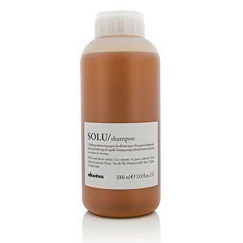 DAVINES SOLU CLARIFYING SOLUTION SHAMPOO (FOR ALL HAIR TYPES)  1000ML/33.8OZ