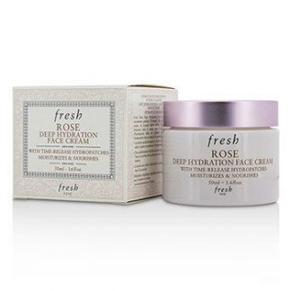 FRESH ROSE DEEP HYDRATION FACE CREAM - NORMAL TO DRY SKIN TYPES  50ML/1.6OZ