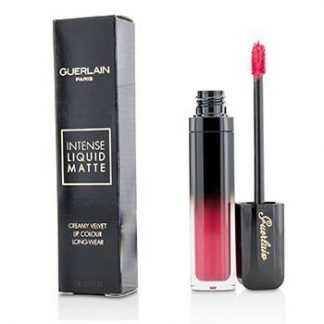 GUERLAIN INTENSE LIQUID MATTE CREAMY VELVET LIPCOLOUR - # M71 EXCITING PINK  7ML/0.23OZ