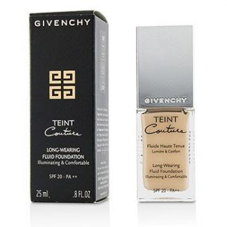 GIVENCHY TEINT COUTURE LONG WEAR FLUID FOUNDATION SPF20 - # 2 ELEGANT SHELL  25ML/0.8OZ