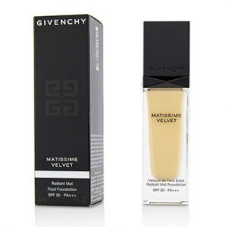 GIVENCHY MATISSIME VELVET RADIANT MAT FLUID FOUNDATION SPF 20 - #01 MAT PORCELAIN  30ML/1OZ