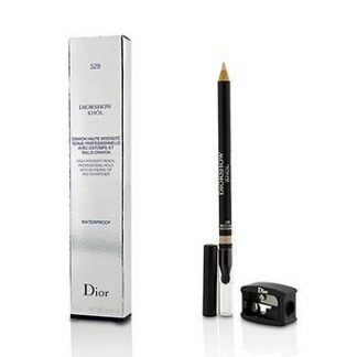 CHRISTIAN DIOR DIORSHOW KHOL PENCIL WATERPROOF WITH SHARPENER - # 529 BEIGE KHOL  1.4G/0.04OZ