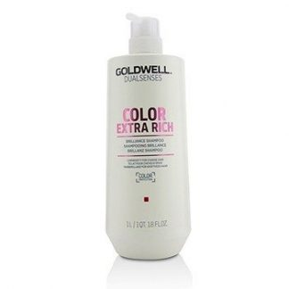 GOLDWELL DUAL SENSES COLOR EXTRA RICH BRILLIANCE SHAMPOO (LUMINOSITY FOR COARSE HAIR)  1000ML/33.8OZ