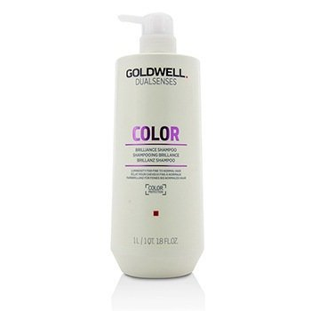 GOLDWELL DUAL SENSES COLOR BRILLIANCE SHAMPOO (LUMINOSITY FOR FINE TO NORMAL HAIR)  1000ML/33.8OZ