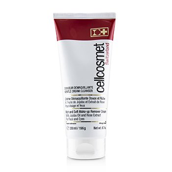 CELLCOSMET & CELLMEN CELLCOSMET GENTLE CREAM CLEANSER (RICH & SOFT MAKE-UP REMOVER CREAM)  200ML/6.7OZ