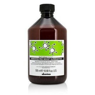 DAVINES NATURAL TECH RENEWING PRO BOOST SUPERACTIVE TREATMENT ENHANCER (FOR ALL SCALP AND HAIR TYPES)  500ML/16.9OZ