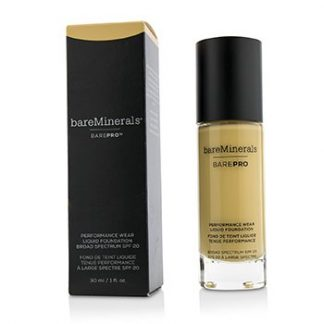 BAREMINERALS BAREPRO PERFORMANCE WEAR LIQUID FOUNDATION SPF20 - # 08 GOLDEN IVORY  30ML/1OZ