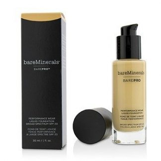 BAREMINERALS BAREPRO PERFORMANCE WEAR LIQUID FOUNDATION SPF20 - # 09 LIGHT NATURAL  30ML/1OZ