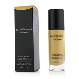 BAREMINERALS BAREPRO PERFORMANCE WEAR LIQUID FOUNDATION SPF20 - # 14 SILK  30ML/1OZ