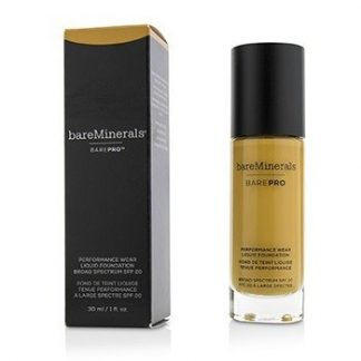 BAREMINERALS BAREPRO PERFORMANCE WEAR LIQUID FOUNDATION SPF20 - # 21 SABLE  30ML/1OZ