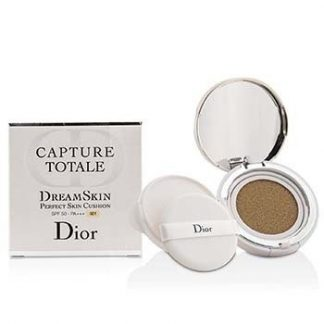 CHRISTIAN DIOR CAPTURE TOTALE DREAMSKIN PERFECT SKIN CUSHION SPF 50 WITH EXTRA REFILL - # 021  2X15G/0.5OZ