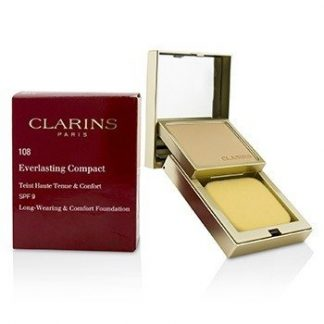 CLARINS EVERLASTING COMPACT FOUNDATION SPF 9 - # 108 SAND  10G/0.3OZ