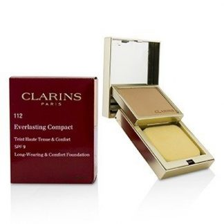CLARINS EVERLASTING COMPACT FOUNDATION SPF 9 - # 112 AMBER  10G/0.3OZ