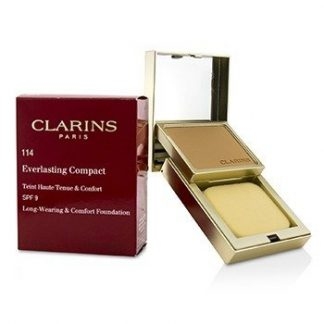 CLARINS EVERLASTING COMPACT FOUNDATION SPF 9 - # 114 CAPPUCCINO  10G/0.3OZ