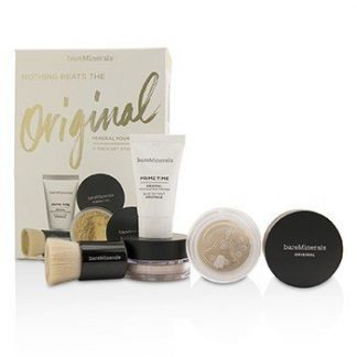 BAREMINERALS GET STARTED MINERAL FOUNDATION KIT - # 07 GOLDEN IVORY  4PCS