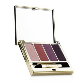 CLARINS 4 COLOUR EYESHADOW PALETTE (SMOOTHING & LONG LASTING) - #07 LOVELY ROSE  6.9G/0.2OZ