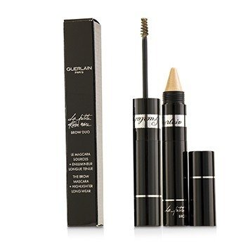 GUERLAIN LA PETITE ROBE NOIRE BROW DUO (BROW MASCARA 4ML/0.13OZ + HIGHLIGHTER 1.5G/0.05OZ) - # 10 LIGHT G0424  -