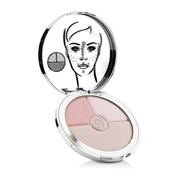 GUERLAIN METEORITES HEART SHAPE STROBING PALETTE (BLUSH AND LUMINIZER POWDER)  10G/0.3OZ