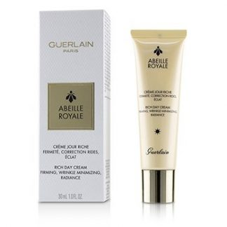 GUERLAIN ABEILLE ROYALE RICH DAY CREAM - FIRMING, WRINKLE MINIMIZING, RADIANCE  30ML/1OZ
