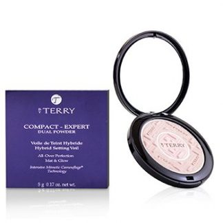 BY TERRY COMPACT EXPERT DUAL POWDER - # 2 ROSY GLEAM  5G/0.17OZ