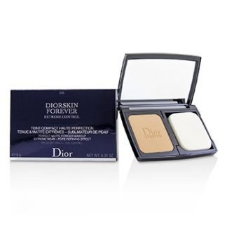 CHRISTIAN DIOR DIORSKIN FOREVER EXTREME CONTROL PERFECT MATTE POWDER MAKEUP SPF 20 - # 040 HONEY BEIGE  9G/0.31OZ