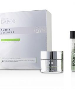 BABOR DOCTOR BABOR PURITY CELLULAR SOS DE-BLEMISH KIT: DE-BLEMISH CREAM 50ML/1.7OZ + DE-BLEMISH POWDER 5G/0.16OZ  2PCS