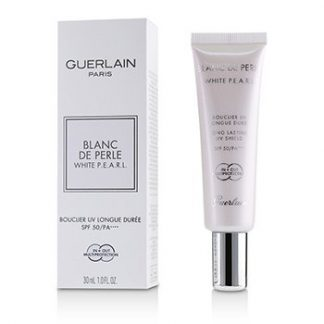 GUERLAIN BLANC DE PERLE WHITE P.E.A.R.L. LONG LASTING UV SHIELD SPF50 PA++++  30ML/1OZ