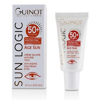 GUINOT SUN LOGIC SUN LOGIC AGE SUN ANTI-AGEING SUN EYE CREAM SPF 50+  15ML/0.44OZ