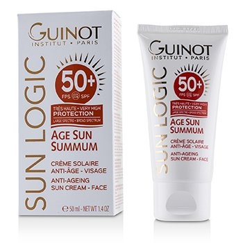 GUINOT SUN LOGIC AGE SUN SUMMUM ANT-AGEING SUN CREAM FOR FACE SPF 50+  50ML/1.7OZ