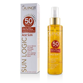 GUINOT SUN LOGIC AGE SUN ANTI-AGEING SUN DRY OIL FOR BODY SPF 50  150ML/5.07OZ