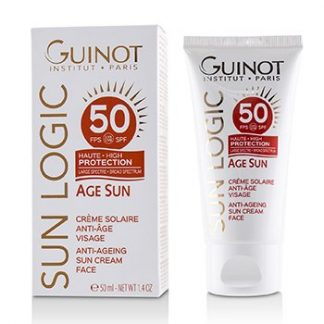 GUINOT SUN LOGIC AGE SUN ANTI-AGEING SUN CREAM FOR FACE SPF 50  50ML/1.4OZ