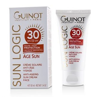 GUINOT SUN LOGIC AGE SUN ANTI-AGEING SUN CREAM FOR FACE SPF 30  50ML/1.7OZ