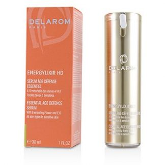 DELAROM ENERGYLIXIR HD ESSENTIAL AGE DEFENCE SERUM - FOR ALL SKIN TYPES TO SENSITIVE SKIN  30ML/1OZ