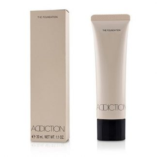 ADDICTION THE FOUNDATION SPF 12 - # 002 (PORCELAIN ROSE)  30ML/1.1OZ