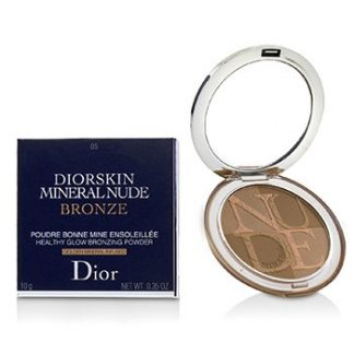 CHRISTIAN DIOR DIORSKIN MINERAL NUDE BRONZE HEALTHY GLOW BRONZING POWDER - # 05 WARM SUNLIGHT  10G/0.35OZ