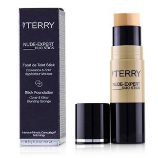 BY TERRY NUDE EXPERT DUO STICK FOUNDATION - # 5 PEACH BEIGE  8.5G/0.3OZ