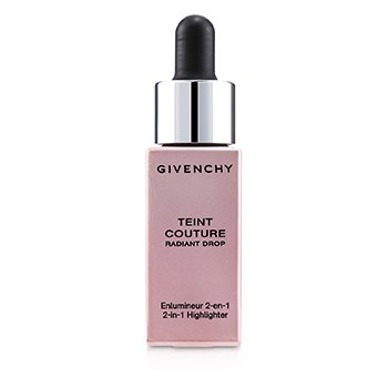 GIVENCHY TEINT COUTURE RADIANT DROP 2 IN 1 HIGHLIGHTER - # 01 RADIANT PINK  15ML/0.5OZ