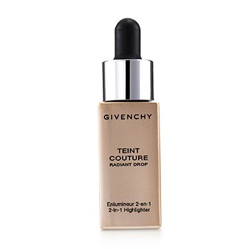 GIVENCHY TEINT COUTURE RADIANT DROP 2 IN 1 HIGHLIGHTER - # 02 RADIANT GOLD  15ML/0.5OZ