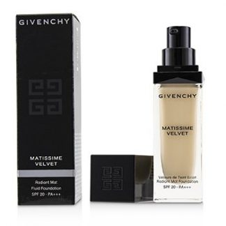 GIVENCHY MATISSIME VELVET RADIANT MAT FLUID FOUNDATION SPF 20 - #00 MAT IVORY  30ML/1OZ